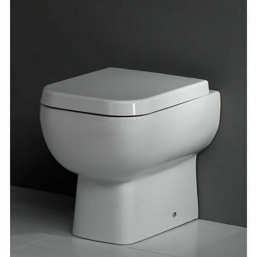 RAK Series 600 Compact Close Coupled Toilet Pan Cistern by E-PLUMB