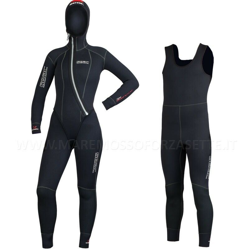 MUTA SUBACQUEA 5mm SEACSUB PRIVILEGE TG 2 -S women DIVE WETSUIT LADY NEOPRENE