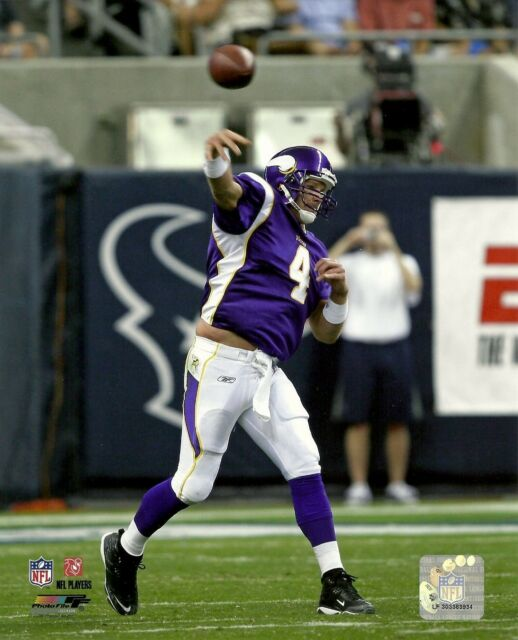 0f658ecb4 QB BRETT FAVRE 8x10 Licensed NFL Action Photo MINNESOTA VIKINGS  4  Photofile HOF
