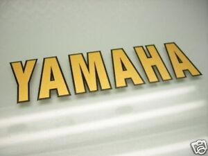 Details Zu Yamaha Tank Verkleidung Emblem Aufkleber Tdm 850 Fj 1200 Fzr 1000 Fz 750 Xs 1100