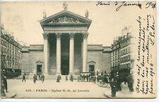 CP 75 PARIS - Eglise N.-D. de Lorette