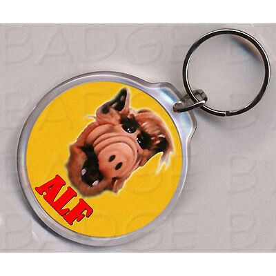 ALF round keyring - DOUBLE SIDED!
