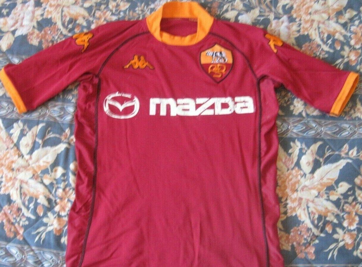 CamisetaMaglia Shirt Trikot AS ROMA Kappa Vintage Season 2002 Size S