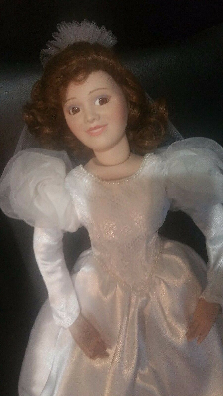 Beautiful Bride by Franklin Heirloom Dolls 16