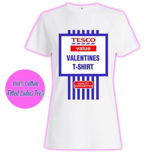 Womans Ladies Girls Valentines Princess Love Slogan Value Glitter T Shirt