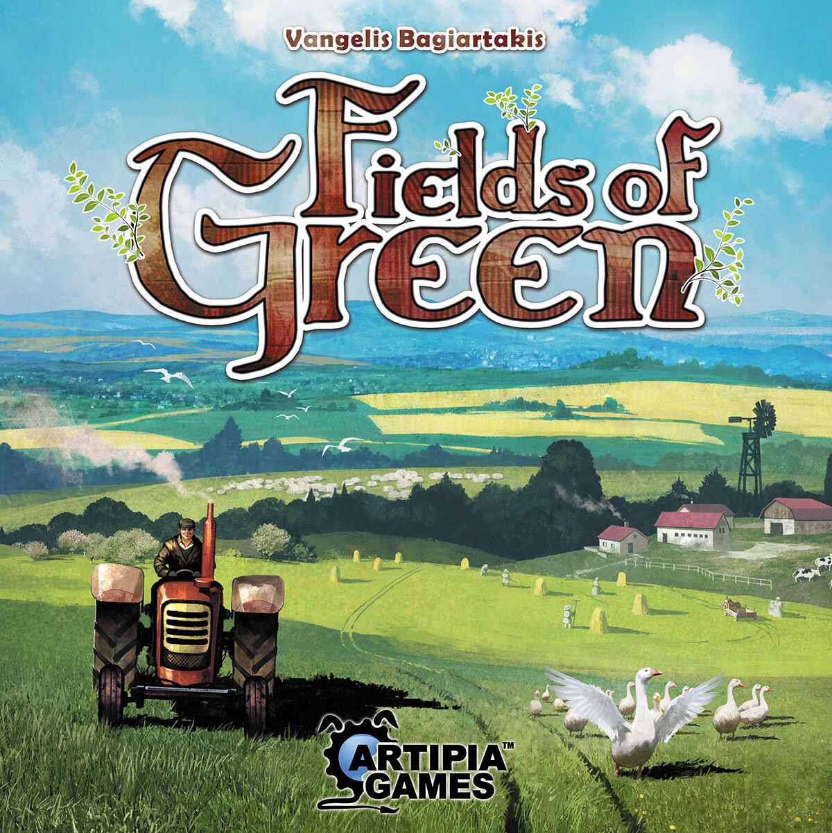 Fields of verde, Juego por Mesa, Nuevo por Ghenos, Edición Italiana