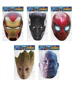 Star Wars Classic Official 2D Card Party Face Masks Variety 5 Pack