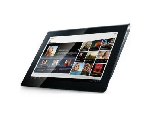 1 of 1 - Sony SGPT112US/S32GB Black Wi-Fi 9.4-Inch Display 5MP Camera 1GB RAM Tablet