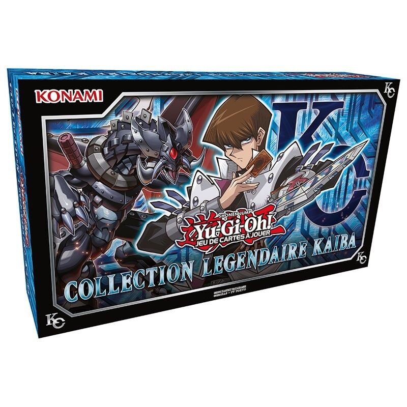 COFFRET YU-GI-OH   COLLECTION LEGENDAIRE KAIBA FRANCAIS NEUF SCELLE