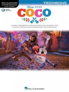 Actif Coco Trombone Instrumental Play-along Book And Audio 000263812 Neuf-afficher Le Titre D'origine Plus De Rabais Sur Les Surprises