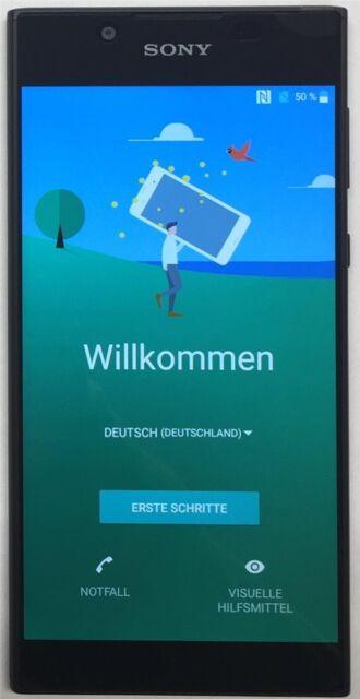 Sony Xperia L1 G3311 Single Sim Wlan 13Mp 16Gb LTE Wlan  schwarz