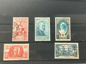 France-1938-39-Good-lot-Very-Fine-used-stamps-HCV-35