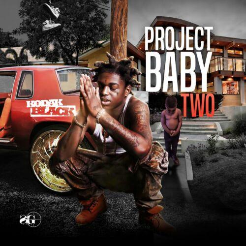 """Kodak Black Project Baby 2 Cover Poster Mixtape XXXTENTACION 20×20 24×24/"""" 32×32/"""""""