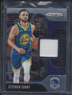 stephen curry jersey card