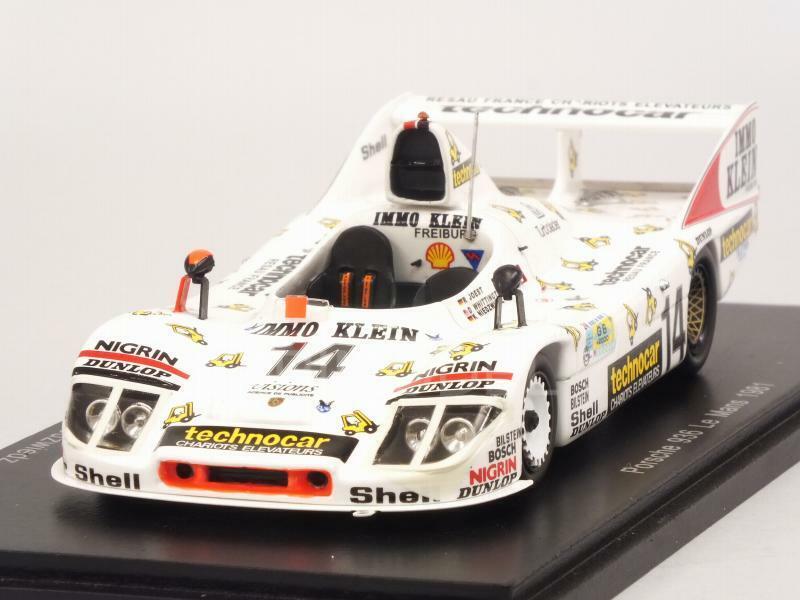 Porsche 936 Le Mans 1981 Whittington - Joest - Niedzwiedz 1 43 SPARK S5502