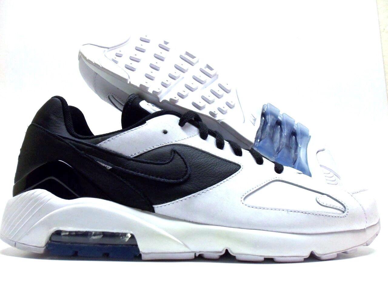 NIKE AIR MAX 180 ID WHITE BLACK-WHITE SIZE MEN'S 11 [BQ0739-991]