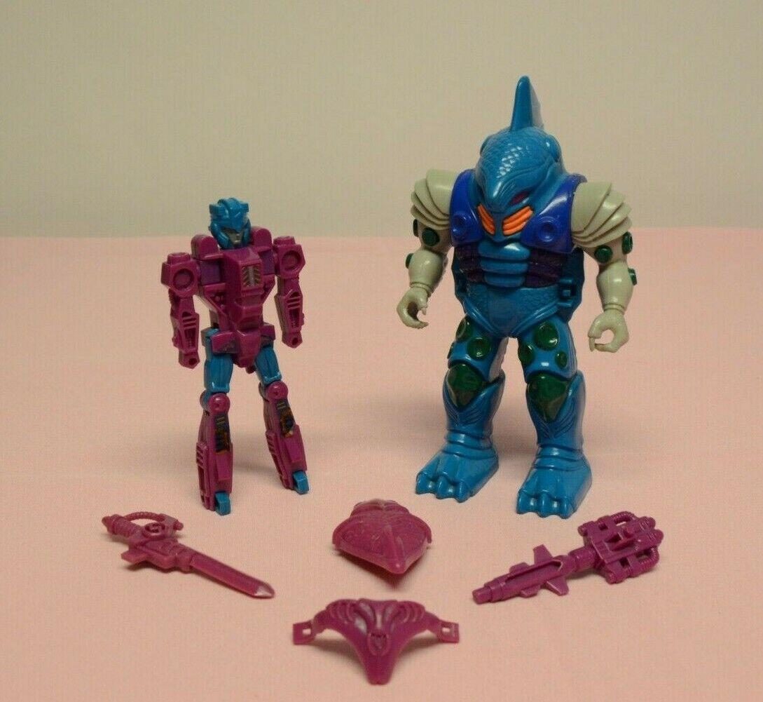 Vintage Transformers G1 Pretenders submarauder Hasbro 1988 Completa