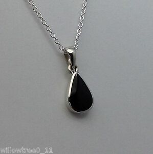 Genuine whitby jet and sterling silver pendant hand made in whitby image is loading genuine whitby jet and sterling silver pendant hand aloadofball Images