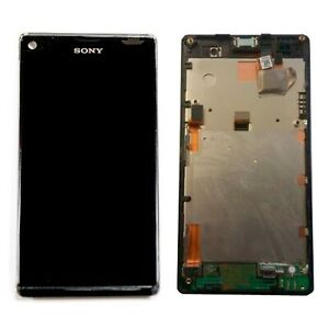 Bildschirm Vollständig Sony Xperia L C2105 78P5320001N Schwarz Original Neu
