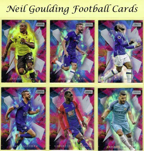 Topps STADIUM CLUB 2016 ☆ GOLAZO ☆ Football Insert Cards #1 to #10