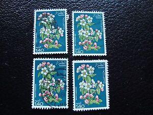 Argelia-Sello-Yvert-Y-Tellier-N-682-x4-Matasellados-A30-Stamp-Algeria-EL