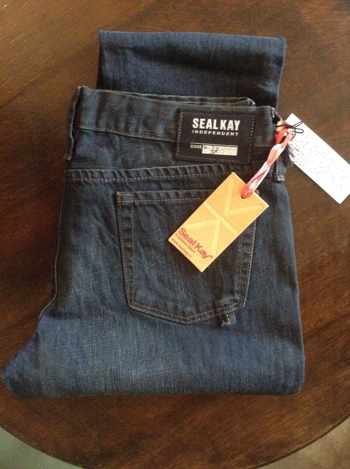 Seal Kay bluee womens cropped jeans 30' 29L