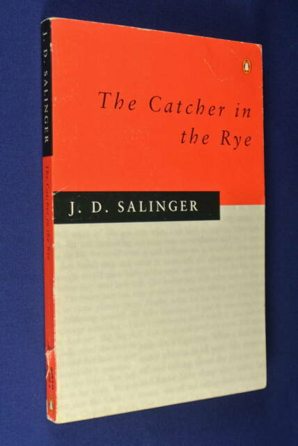 THE CATCHER IN THE RYE J.D. Salinger BOOK Classic Fiction - JD Salinger