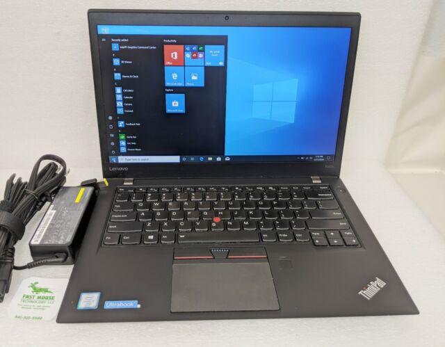 "Lenovo ThinkPad T460s FHD 14"" i7-6600U 2.60 GHz 8GB 128GB SSD Windows 10 Pro"