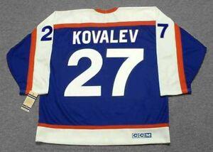 6f768dcf580 ALEX KOVALEV New York Rangers 2003 CCM Vintage Throwback NHL Hockey ...