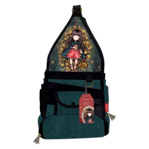 Mini Craft Storage Tote Santoro Autumn Leaves Card Craft Collection