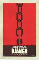 Django Unchained - original DS movie poster  D/S 27x40 Adv - INTL