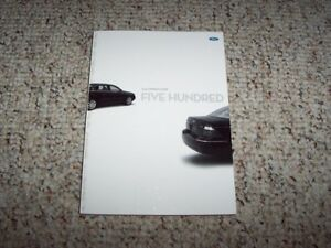 ford   sedan owner owners manual user