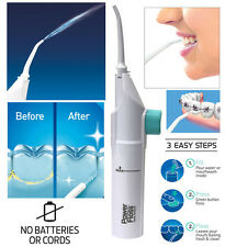 Power Floss Dental Water Jet Cords Braces Tooth Pick No Batteries As Seen on TV