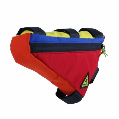 Large Color may vary Multicolor Gear Upshift Frame Bag Green Guru