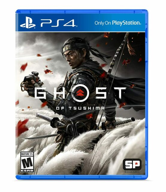 NEW! Ghost of Tsushima (Sony PlayStation 4, 2020)
