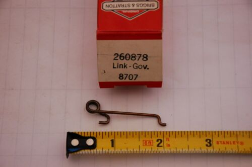 P#260878 Vintage NOS Briggs and Stratton Link Gov