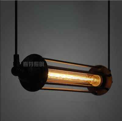 Pencil Cage T30 Bulb Grand Edison Factory Ceiling Lamp Pendant Chandelier Light
