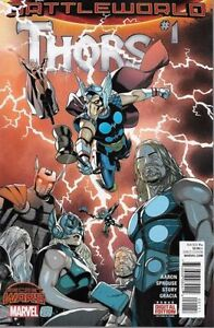 THORS  #1  NM NEW.  BOARDED & BAGGED. FREEPOST