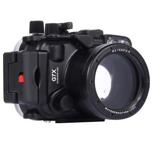 40m-Waterproof-Underwater-Housing-for-Canon-G7X-Camera-NEW-DEAL