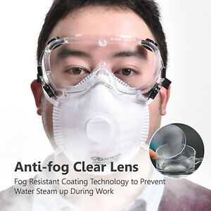 SAFEYEAR-Safety-Goggles-Seal-Eye-Protection-Direct-Vented-HD-Clear-Anti-Fog-Lens