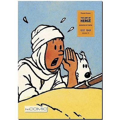 Die Kunst von Hergé 2 Schöpfer von Tim und Struppi 1937 - 1949 SEKUNDÄR ARTBOOK