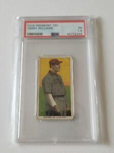 1909-11 T206 Piedmont 150 Subjects Jimmy Williams PSA 1.5 Vintage Low Pop Count