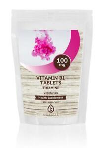 Vitamin-B1-THIAMINE-100mg-x180-Tablets-Letter-Post-Box-Size