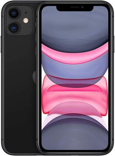 Ohne Simlock Apple iPhone 11-128GB Schwarz NEU OVP MWM02ZD//A
