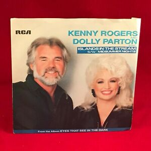 KENNY ROGERS DOLLY PARTON Islands In The Stream 1983 UK 7 ...