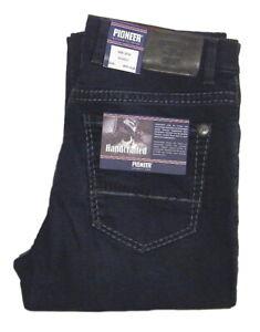 PIONEER-RANDO-W-32-bis-W-42-Stretch-Jeans-Hose-Blau-HANDCRAFTED-1654-9708-440