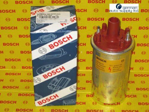0221118322 Porsche Ignition Coil BOSCH 00055 NEW OEM Red