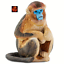 Snub Nosed Monkey Ape Wildlife Toy Model by Safari Ltd 100321 Brand New