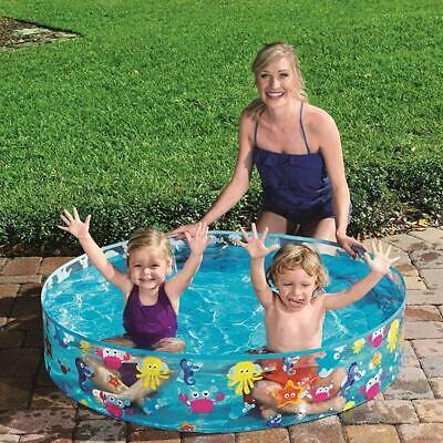 Large Family Swimming Pool Outdoor Garden Summer Fill n Fun Kids Paddling Pools