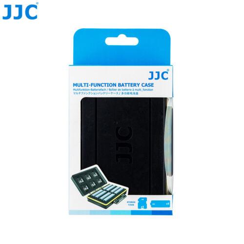 6 Pilas AA Flash Speedlite JJC 6 Tarjeta de memoria SD Estuche Soporte Protector Caja